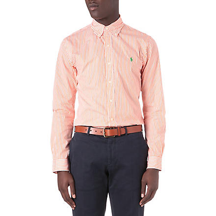 RALPH LAUREN Slim-fit striped shirt (Cr21c-flare ora
