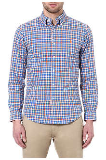 RALPH LAUREN Slim-fit checked sport shirt