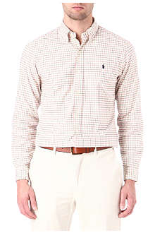 RALPH LAUREN Slim-fit checked shirt