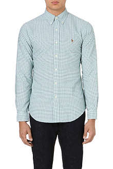 RALPH LAUREN Fitted cotton shirt