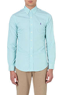 RALPH LAUREN Slim-fit cotton shirt