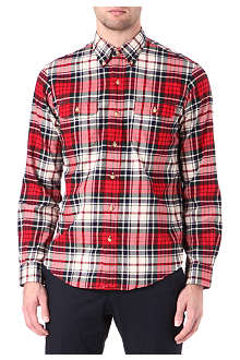 RALPH LAUREN Checked work shirt