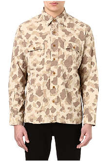 RALPH LAUREN Military camouflage-printed shirt