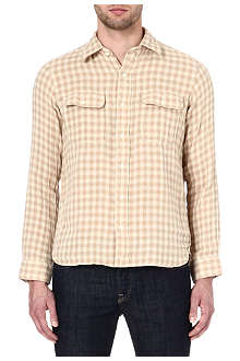 RALPH LAUREN Sanford checked shirt