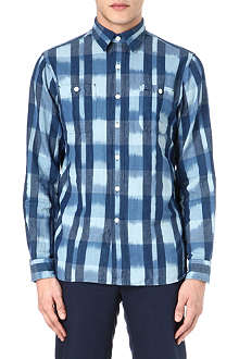 RALPH LAUREN Washed check shirt