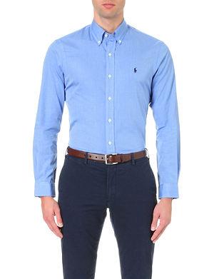 RALPH LAUREN Slim-fit single-cuff shirt