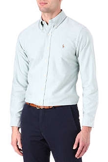 RALPH LAUREN Slim-fit cotton sport shirt