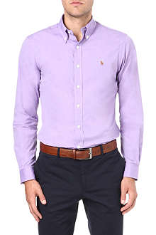 RALPH LAUREN Slim-fit button-down shirt