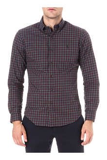 RALPH LAUREN Slim-fit tartan shirt