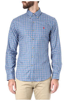RALPH LAUREN Slim fit checked shirt