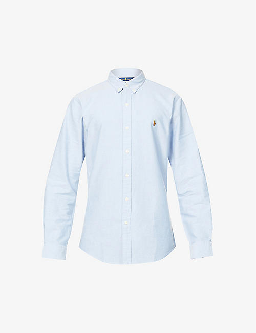 long sleeve grey ralph lauren polo mens pale blue polo shirt