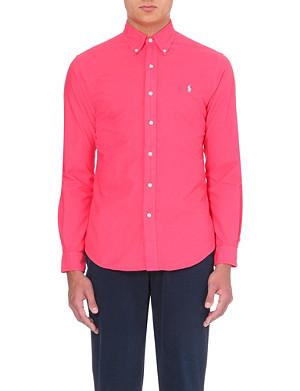 RALPH LAUREN Slim-fit cotton shirt