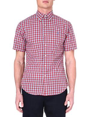 RALPH LAUREN Slim-fit short-sleeved shirt