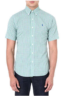 RALPH LAUREN Slim-fit short-sleeved shirt