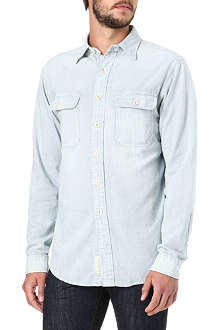 RALPH LAUREN Striped single-cuff shirt