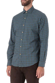 RALPH LAUREN Estate single-cuff checked shirt