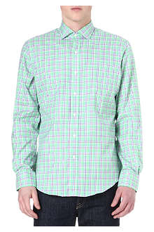 RALPH LAUREN Checked cotton shirt