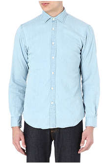 RALPH LAUREN Cotton denim shirt