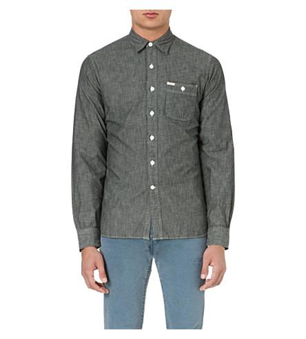 RALPH LAUREN Faded denim shirt (Black (x)