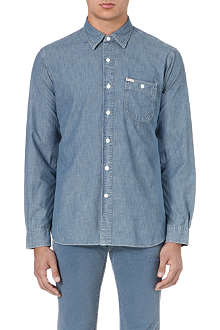 RALPH LAUREN Faded denim shirt