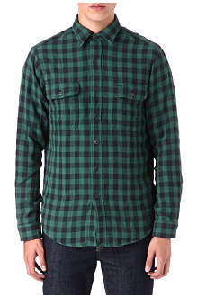 RALPH LAUREN Checked cotton work shirt