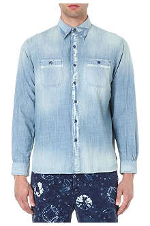 RALPH LAUREN Regular-fit denim shirt