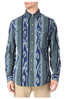 RALPH LAUREN Aztec striped cotton shirt