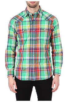 RALPH LAUREN Western checked shirt
