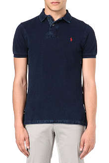 RALPH LAUREN Short-sleeve custom-fit polo shirt
