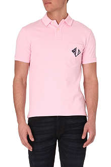 RALPH LAUREN Slim-fit RLC polo shirt