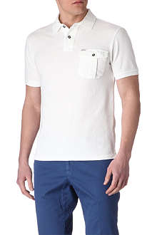 RALPH LAUREN Slim-fit patch-pocket polo shirt
