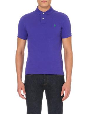 RALPH LAUREN Cotton-piqué polo shirt