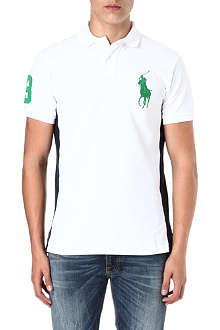 RALPH LAUREN Custom-fit big pony polo shirt