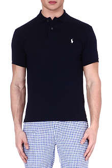 RALPH LAUREN Slim-fit stretch-cotton polo shirt