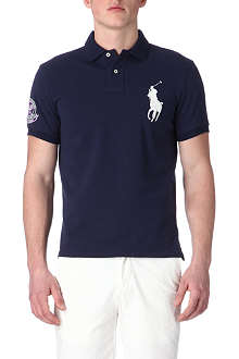 RALPH LAUREN Wimbledon custom-fit polo shirt