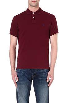 RALPH LAUREN Slim-fit cotton polo shirt