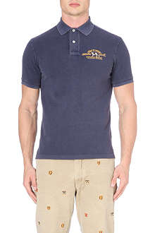 RALPH LAUREN Fade wash polo shirt