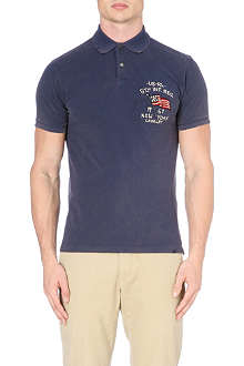 RALPH LAUREN New York fade polo shirt