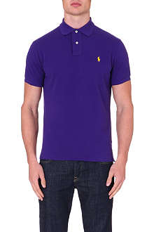 RALPH LAUREN Custom-fit polo shirt