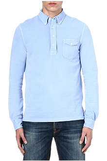 RALPH LAUREN Chest-pocket top