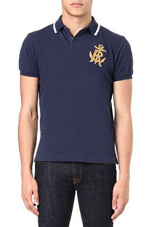 RALPH LAUREN Custom-fit embroidered polo shirt
