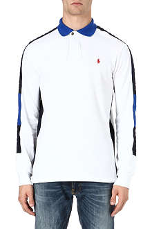 RALPH LAUREN Custom-fit long-sleeve polo shirt