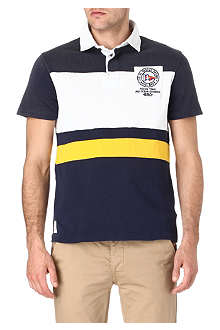 RALPH LAUREN Custom-fit striped rugby shirt