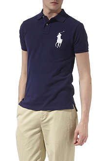 RALPH LAUREN Slim–fit big pony polo shirt