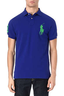 RALPH LAUREN Custom–fit polo shirt