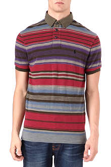 RALPH LAUREN Custom-fit stripe polo shirt