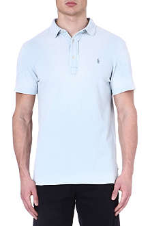 RALPH LAUREN Cotton custom-fit polo shirt