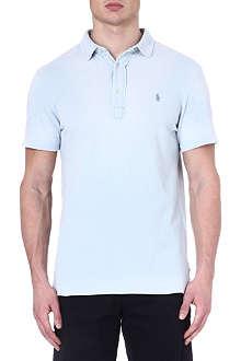 RALPH LAUREN Cotton custom-fit polo shirt