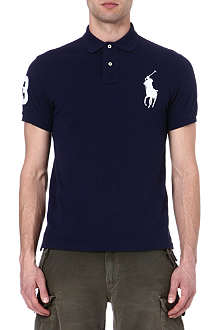 RALPH LAUREN Slim-fit Big pony polo shirt