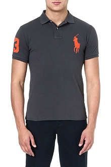 RALPH LAUREN Slim-fit cotton polo shirt
